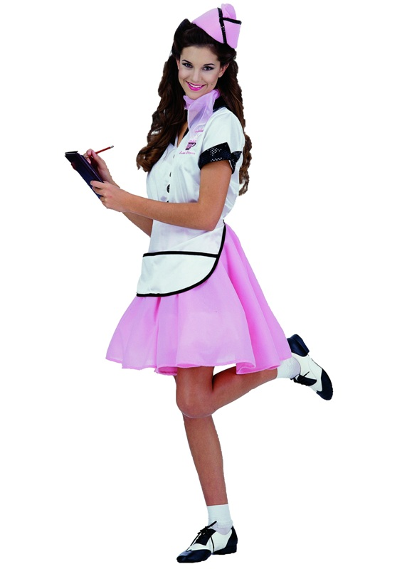 50's Soda Pop Girl Adult Costume