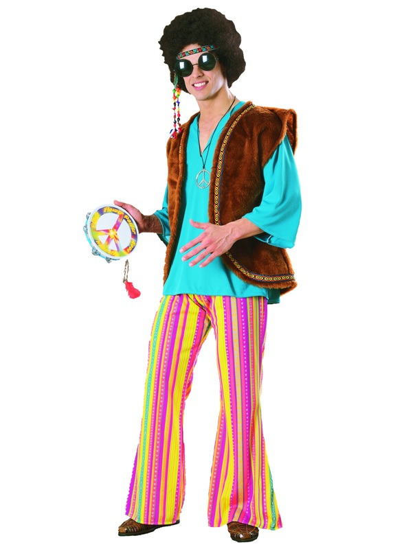 60's John Q Woodstock Adult Costume