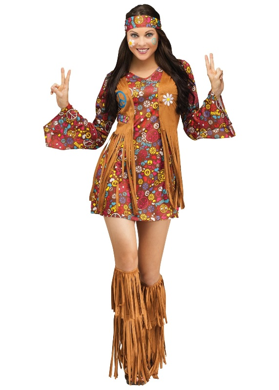 60's Love and Peace Adult Costume