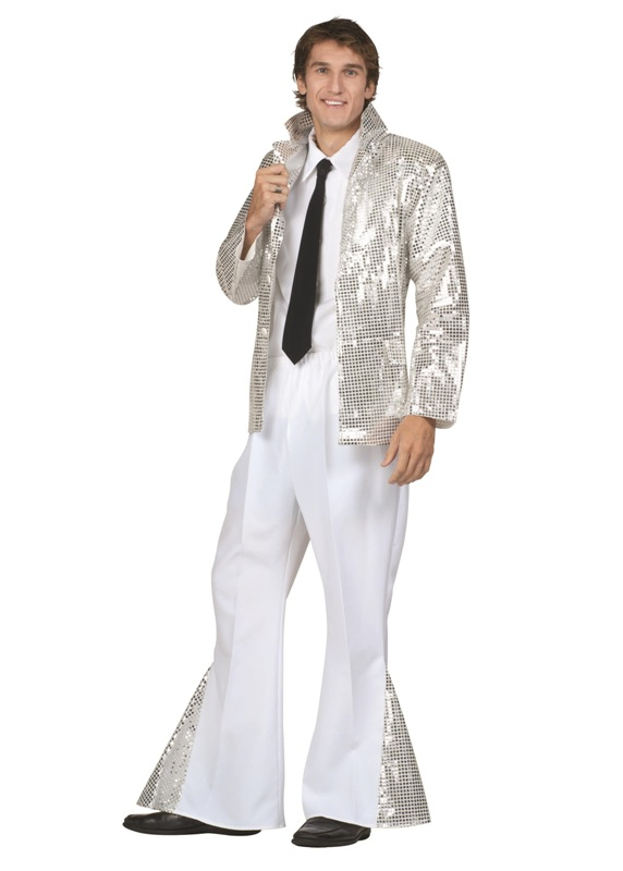 70's Blinking Disco Adult Costume