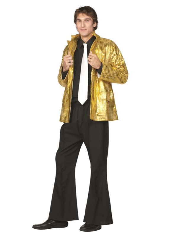 70's Disco Gold Adult Costume