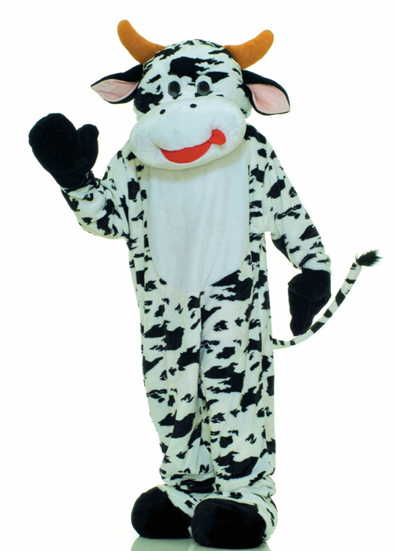 Plush Cow Adult Costume