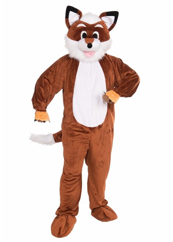 Plush Fox Adult Costume