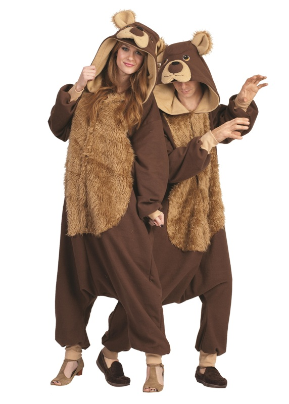 Bailey Bear Funsie Adult Costume