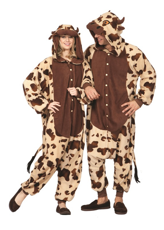 Billy Bull Funsie Adult Costume