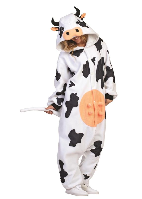 Casey Cow Funsie Adult Costume