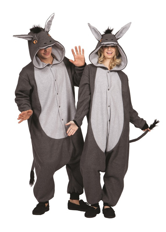 100 Acres Donkey Funsie Adult Costume