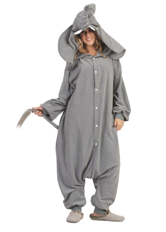 Peanut the Elephant Funsie Adult Costume