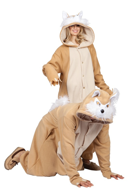 Vixie Fox Funsie Adult Costume