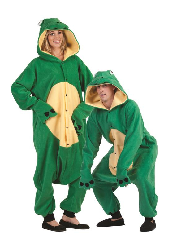 Freddy Frog Funsie Adult Costume