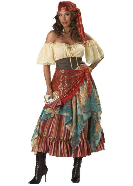 Fortune Teller Gypsy Adult Rental Costume