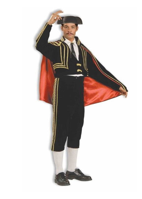 Matador Bullfighter adult rental costume