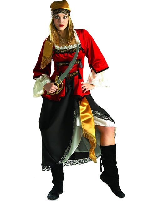 Pirate Queen Adult Rental Costume