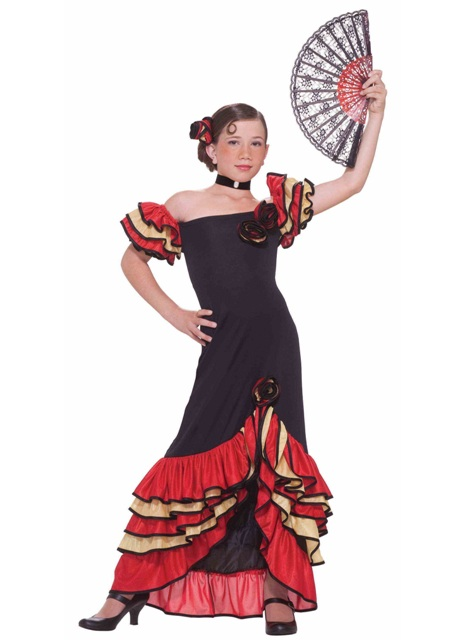 Flamenco Dancer Child Costume
