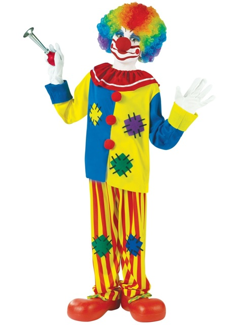Big Top Clown Child Costume