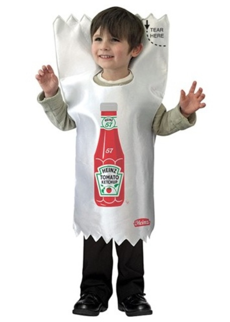 Ketchup Packet Child Costume