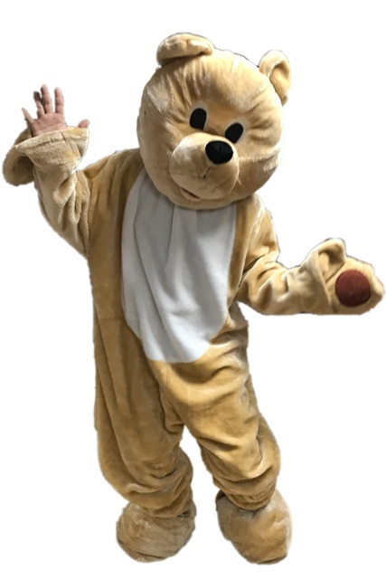 Honey Bear Mascot Costume for Rent