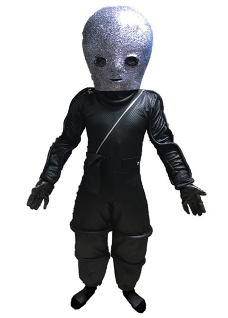 alien warrior mascot costume for rent