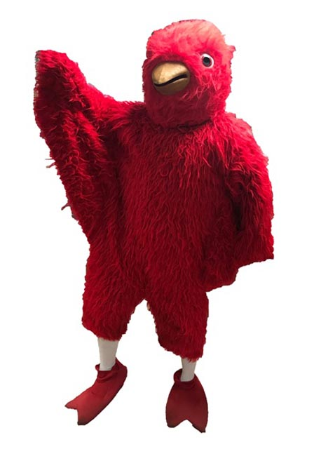 Cardinal Mascot Costume for rent in los angeles