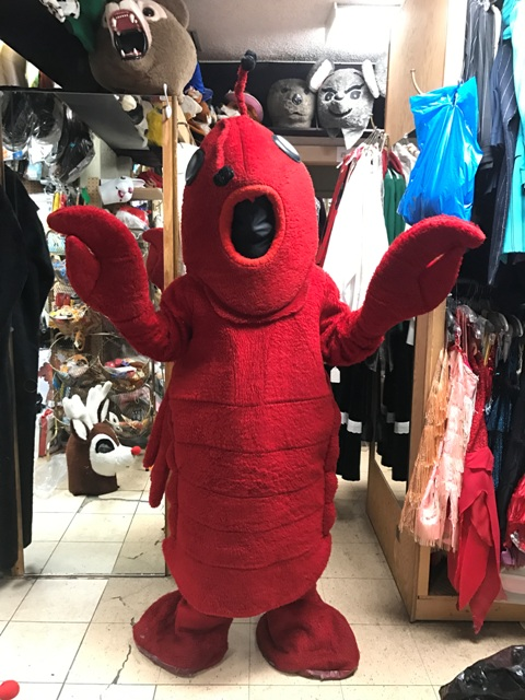 Lobster Mascot Costume for Rent in Los Angeles
