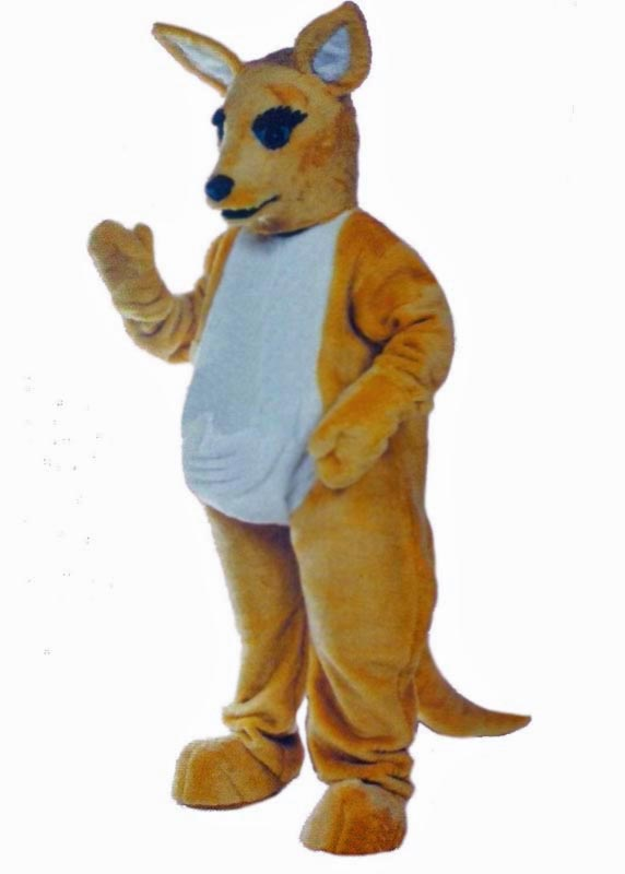 Kangaroo Mascot Costume for rent in los angeles