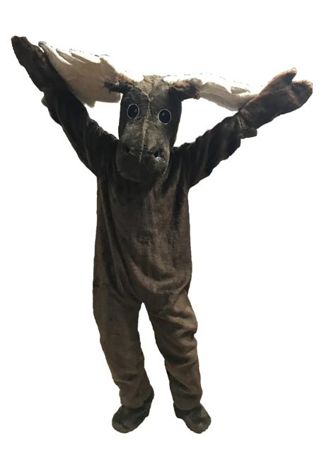 Moose Mascot Costume for rent in los angeles