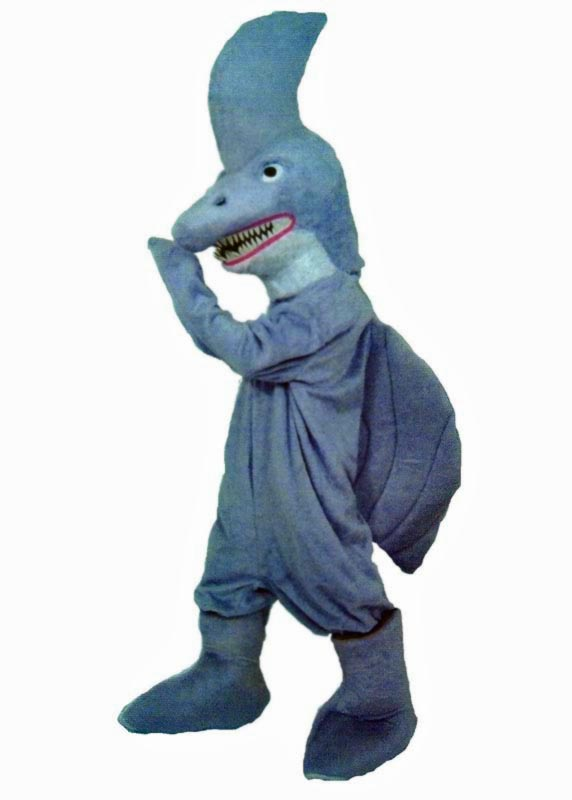 Shark Mascot Costume for rent in los angeles
