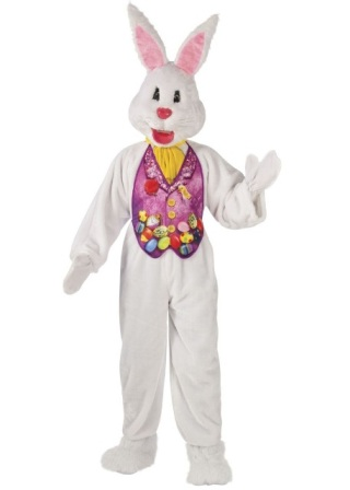 easter bunny mascot costume for rent los angeles
