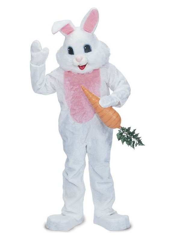 bunny mascot costume for rent in los angeles