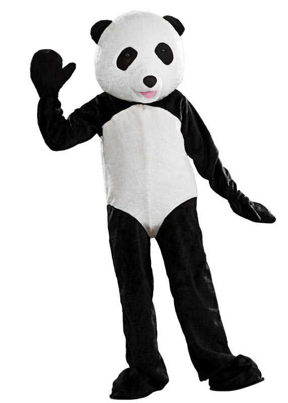 panda bear mascot costume for rent in los angeles