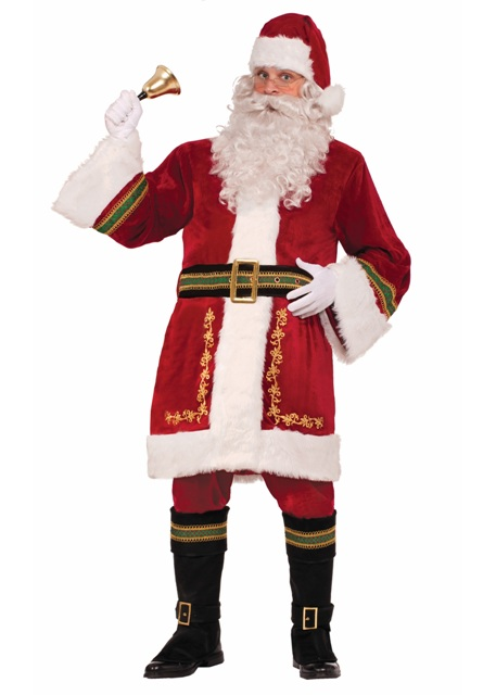 Premium Classic Santa Claus Suit by Forum 74138 74139