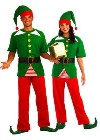 Jolly Elf Unisex Costume by Forum 65451