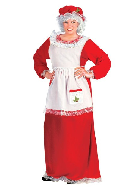 Economy Mrs. Claus Dress by Fun World