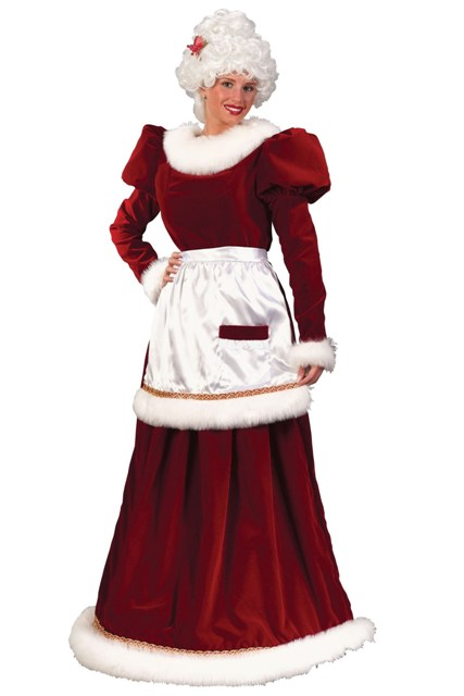 Velvet Mrs. Claus by Fun World