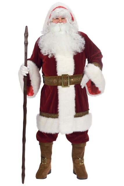 Old World Santa Claus Suit by Fun World 7507