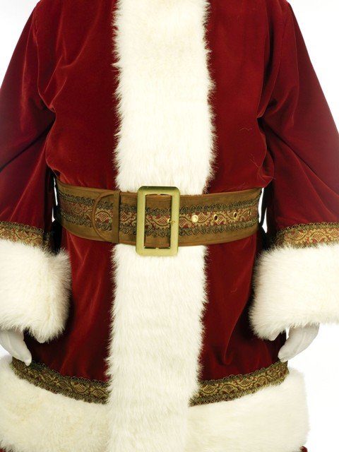 Deluxe Old World Santa Claus Suit by Fun World Zoom