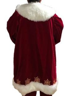 Professional quality Adele's of hollywood Santa Claus Suits