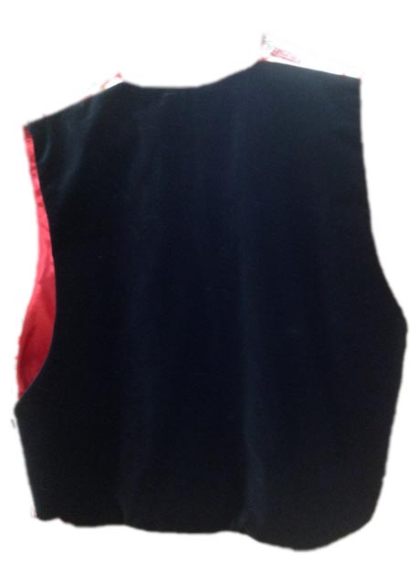 Twelve Days of Christmas santa claus vest