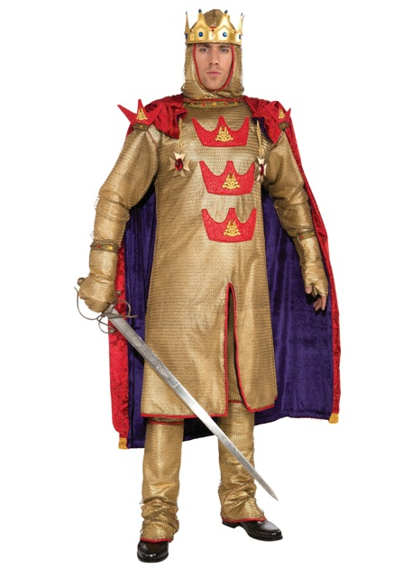King Arthur Adult Rental Costume