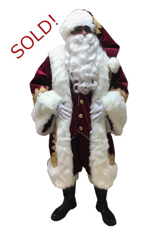 Santa Claus Professional Wardrobe Adele's of Hollywood